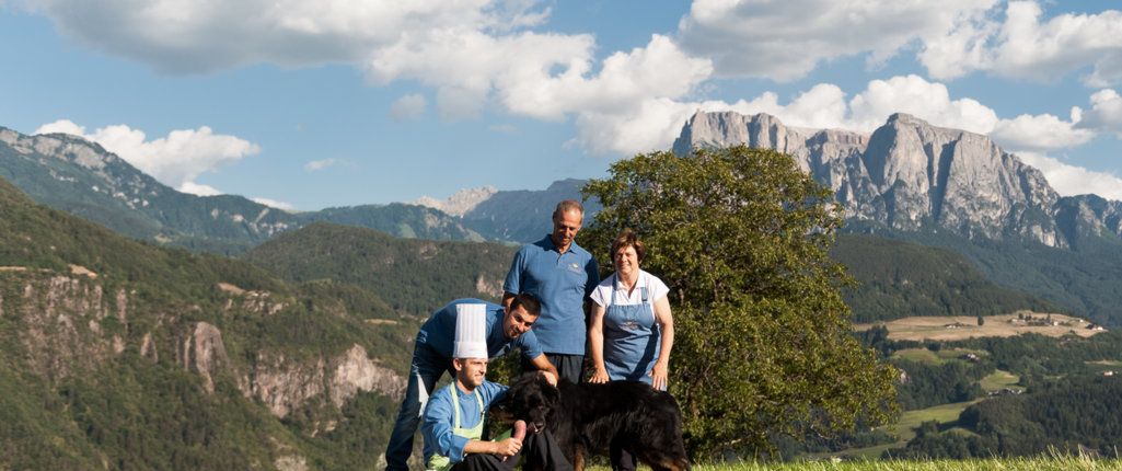 Braun Family welcomes you at the Pennhof in Barbiano