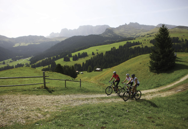 Spannende Trails für Mountainbiker in Südtirol